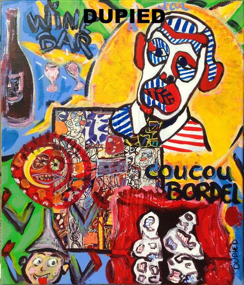 Peinture artiste peintre Dupied