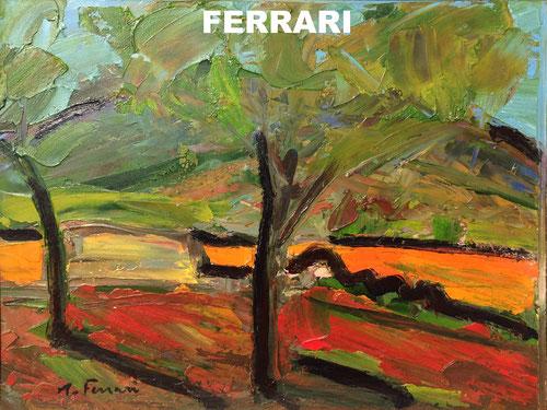 peinture artiste peintre Antoine Ferrari