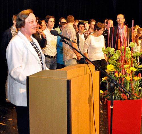 Martha Krasenbrink erhielt vom LVN die goldene Ehrennadel. (Archivfoto: Bernfried Knipping)