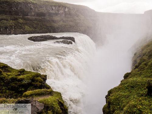 Gullfoss - großer Wasserfall in Island