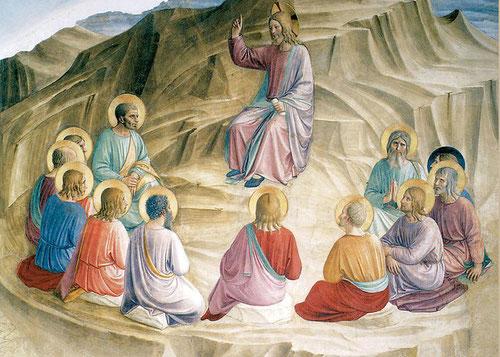 Sermón en la Montaña, Fra Angélico s.XV
