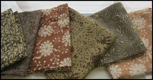 Textiil - Natural Color Batiks from Indonesia