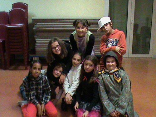 Shynez, Elise, Marie, Margaux Camille, Julie, Jezabelle, Nicolas