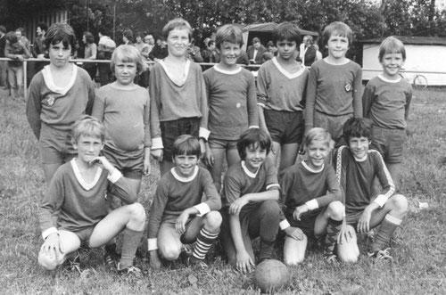 Knaben-Mannschaft im Jahr 1980