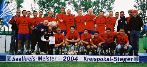 1. Mannschaft im Jahr 2004