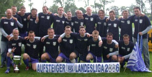 1. Mannschaft im Jahr 2006