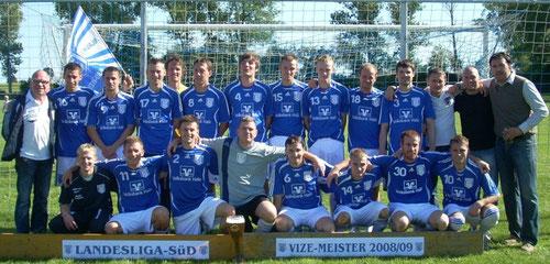 1. Mannschaft im Jahr 2009