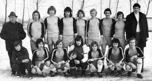 Schüler-Mannschaft in den 70er Jahren