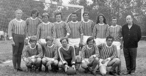 1. Mannschaft zum Ende der 70er Jahre