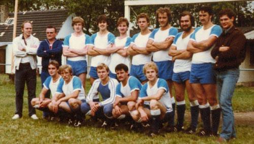 1. Mannschaft im Jahr 1986