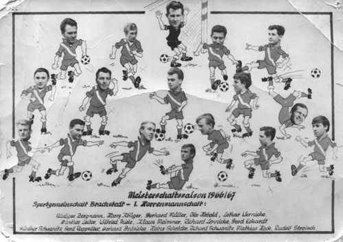 1. Mannschaft in der Saison 1966/67