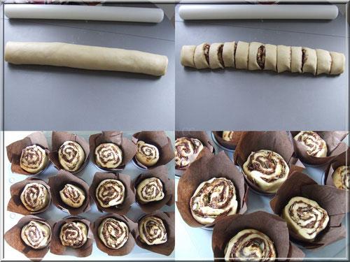 brioche cuite dans moule muffin