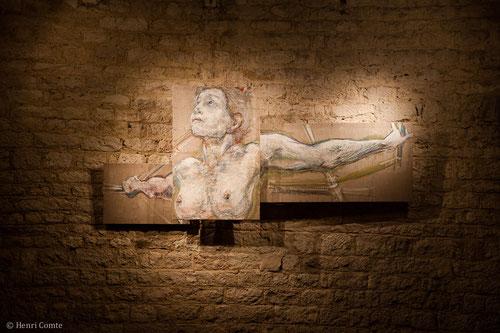 jean-françois comte, peintre contemporain, sa galerie