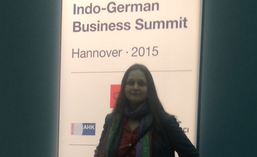 Indo German Business Summit mit PM Modi  @Hannover Messe 2015  -Partnerland Indien
