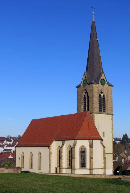 Titelbild des Sickinger Kirchenführers