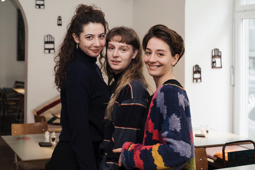Shirin Eissa, Julia Windischbauer, Marie Bloching © Manuela Pickart