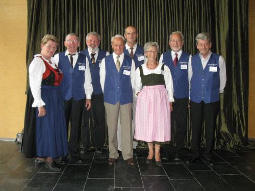 Das Team bei der 625 Jahr Feier