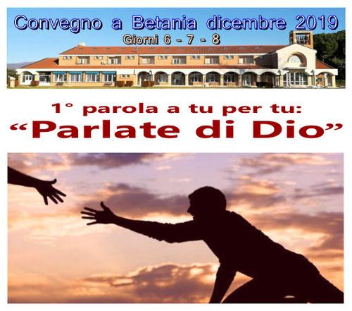 Convegno Betania Parlate di Dio