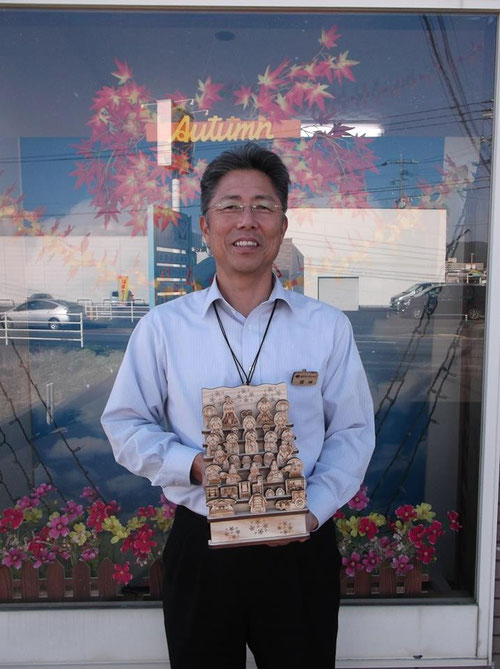 飫肥杉製五月飾り(おびすぎせい)