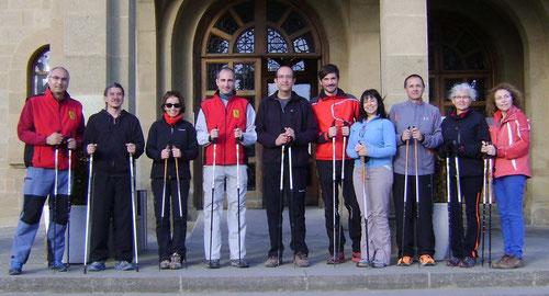 El primer curso para Instructores organizado por Urban Walking , Vic, Diciembre 2012