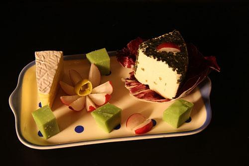 Foodfotografie ( Käseplatte)