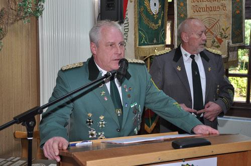 Präsident Stefan Thiele, SV Grift,           Foto: J. Bauer