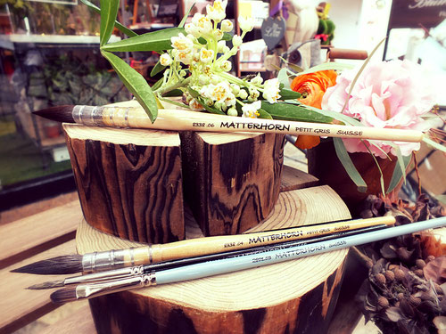 Matterhorn - Natural and Vegan Hair Artist Handmade Brushes - Suisse