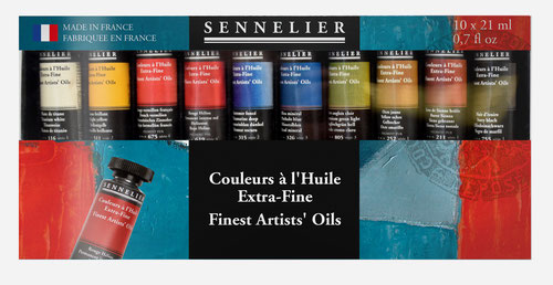 Sennelier Extra Fine Artist Oil Paints