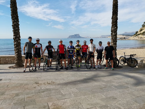Camp d'entraînement Costa Blanca - Calpe avec FTC SPORT