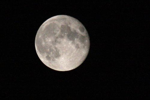 Fantasie & Wirklichkeit Fotografien und Gedichte Kathrin Steiger Mond Vollmond  Luna fotografiert: M.R.
