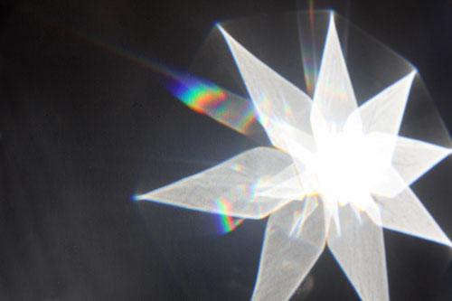 Fantasie & Wirklichkeit Fotografien und Gedichte Kathrin Steiger Stern Regenbogenfarben
