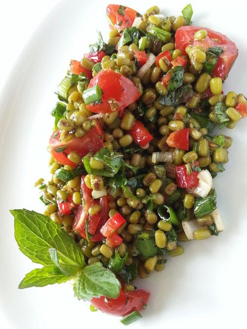 Mungebohnen-Salat