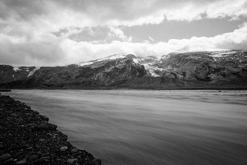 Entre le volcan Eyjafjallajökull et le glacier de Mýrdalsjökull - 16/07/2014