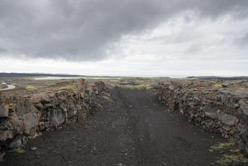 Rift Álfagjá vu du pont Miðlína - 13/07/2014