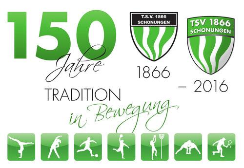 150 Jahre - TSV 1866 Schonungen