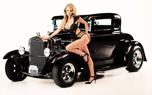 Pinup Photography by Bruce Gates