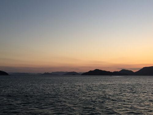 2017年夏 瀬戸内海 豊島