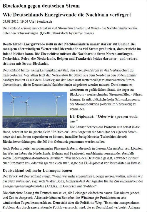 t-online v. 03.08.2015 (Seite 1)