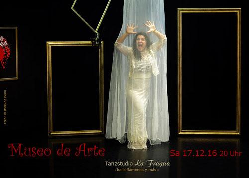 "Titelfoto zur Flamenco-Aufführung ""Museo de Arte"" im Tanzstudio La Fragua/Color-Foto by Boris de Bonn"