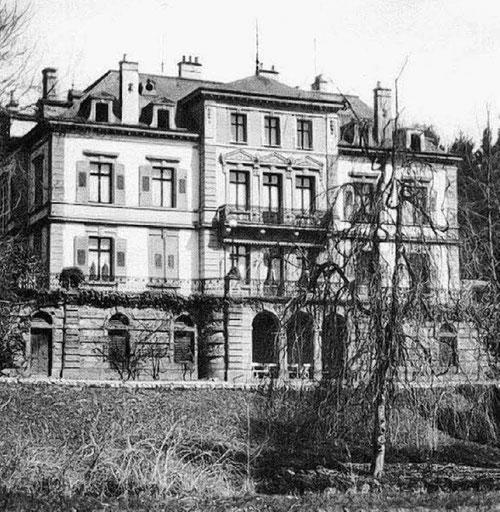 Die Villa Berberich in den 1930er Jahren. Bild: Stadtarchiv Bad Säckingen.