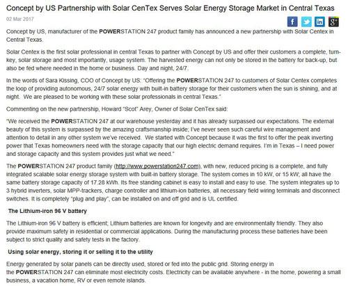 solar storage lithium
