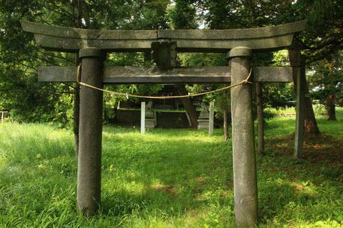 ずいぶん前の滋野神社