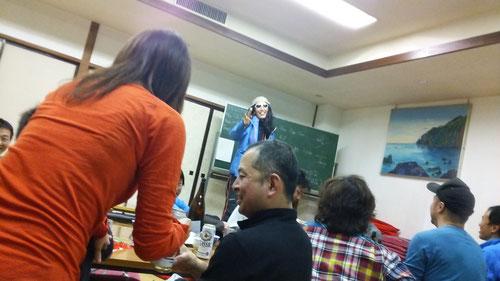 プロスキーヤーYさんの特別授業。