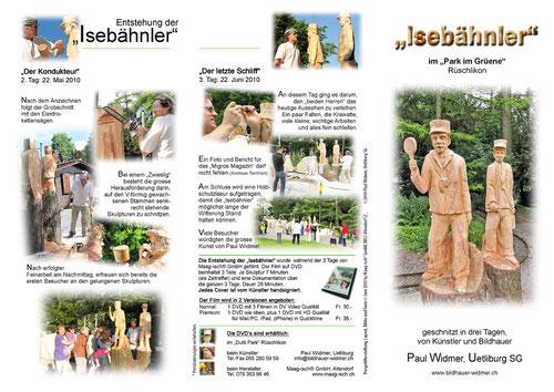 Broschüre Aussenseite (Herstellung www.maag-isch.ch)