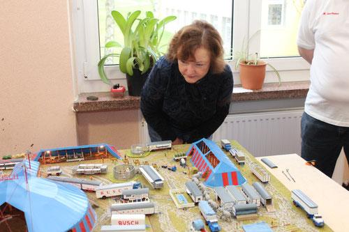 Seit vielen Jahren ist die ehemalige Landrätin des früheren Kreises Rügen und heutige Bundestagsabgeordnete Kerstin Kassner bei uns ein gern gesehener Gast.
