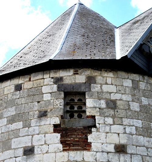 Pigeonnier au moulin de Louvencourt