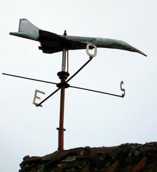 """""""Le Concorde"""" dans le ciel de Quesnoy-sur-Airaines"""
