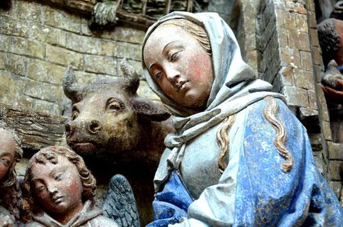 la Nativité: détail