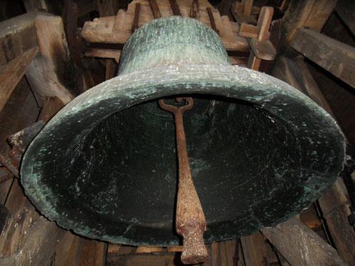 """La cloche """"Jeanne d'Auxi"""" au Beffroi de Doullens....photo: Céline Dallongeville"""