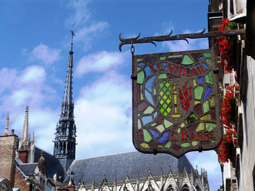 Rue Victor Hugo à Amiens